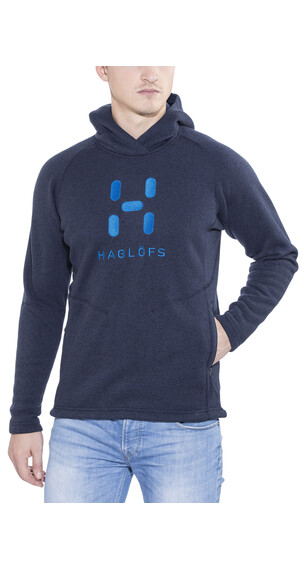 Haglöfs Swook Logo Hood Men deep blue